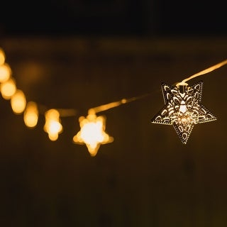 CRYSTALITES- Solar Powered Decorative String Lights - 3 Styles