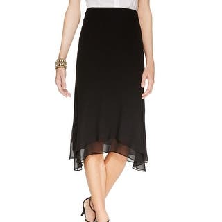 MSK NEW Black Handkerchief-Hem Womens Size Small S ChiffoA-Line Skirt|https://ak1.ostkcdn.com/images/products/is/images/direct/295b0ae9a6b08a5d662ab1269ebe00c41940bf6e/MSK-NEW-Black-Handkerchief-Hem-Womens-Size-Small-S-ChiffoA-Line-Skirt.jpg?impolicy=medium