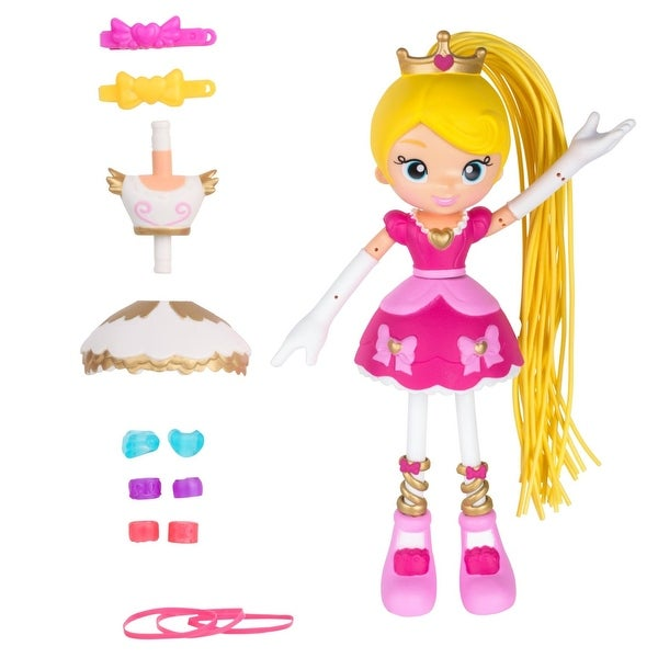 "Betty Spaghetty 7"" Bendy Doll: Princess Betty - multi"