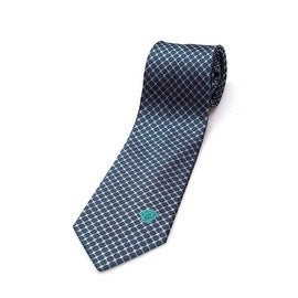 Versace Collection Men's Slim Silk Tie Green