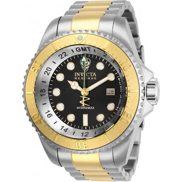 Invicta Men's 29732 'Hydromax' Stainless Steel Watch - Silver. Opens flyout.