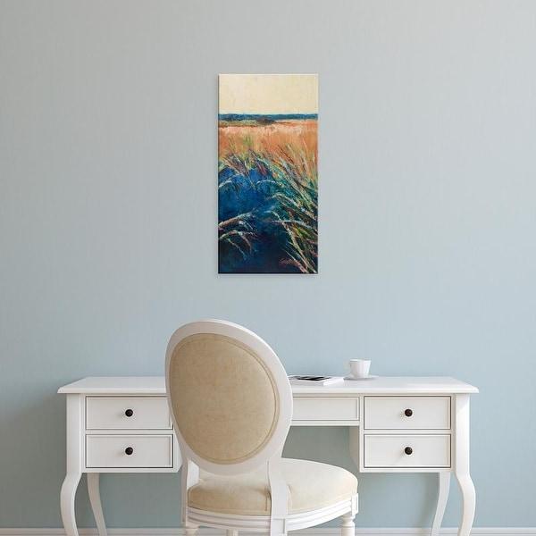 Easy Art Prints Suzanne Wilkins's 'Pastel Wetlands II' Premium Canvas Art