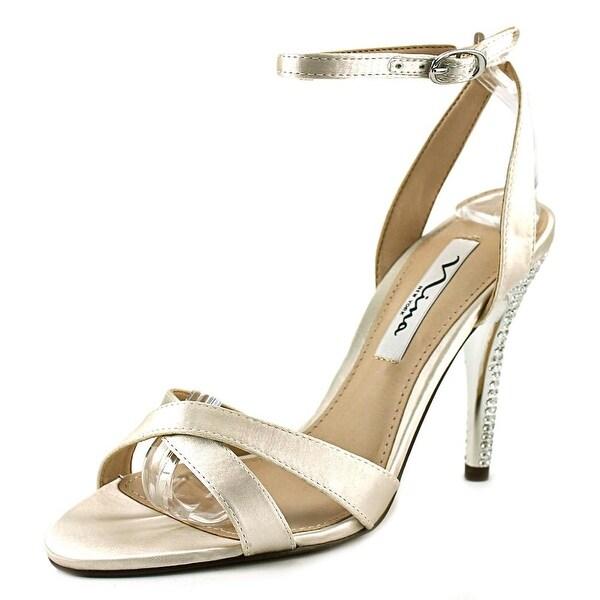 Nina Meryly Women Ivory Crystal Sandals