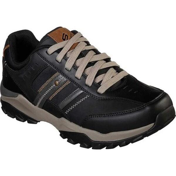 Shop Skechers Men's Relaxed Fit Henrick Delwood Sneaker