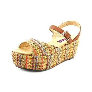 Mojo Moxy Raja Women Open Toe Synthetic Wedge Heel
