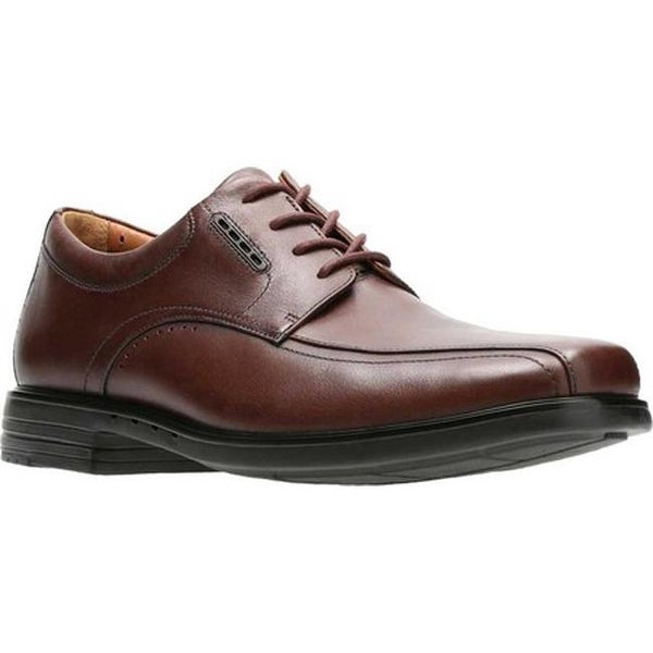 d58c8169a9d9b Shop Clarks Men's UnKenneth Way Derby Shoe Brown Full Grain Leather ...