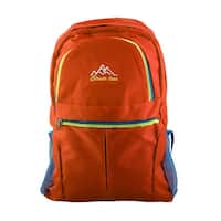 Unique Bargains Clever Bees Authorized Mountaineering Pack Travelling Hiking Backpack Orange