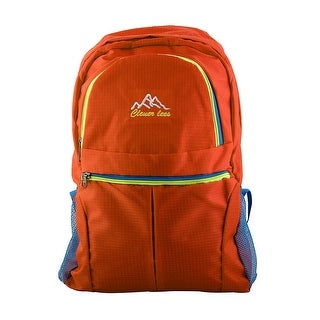 Clever Bees Authorized Mountaineering Pack Travelling Hiking Backpack Orange