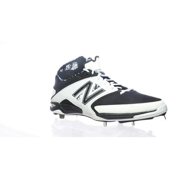 ffbe7ff411b1b Shop New Balance Mens M4040wt2 Black/White Baseball Cleats Size 15 ...