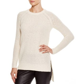 Private Label Womens Sweater Boucle Asymmetrical