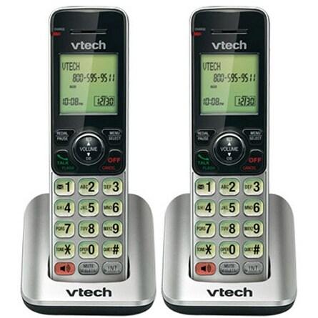 VTech CS6609 (2-Pack) Accessory Handset w/ Backlit LCD Display