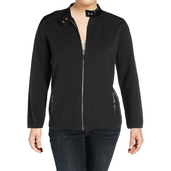 136f8798639a Lauren Ralph Lauren Womens Plus Alisona Bomber Jacket Winter Lightweight