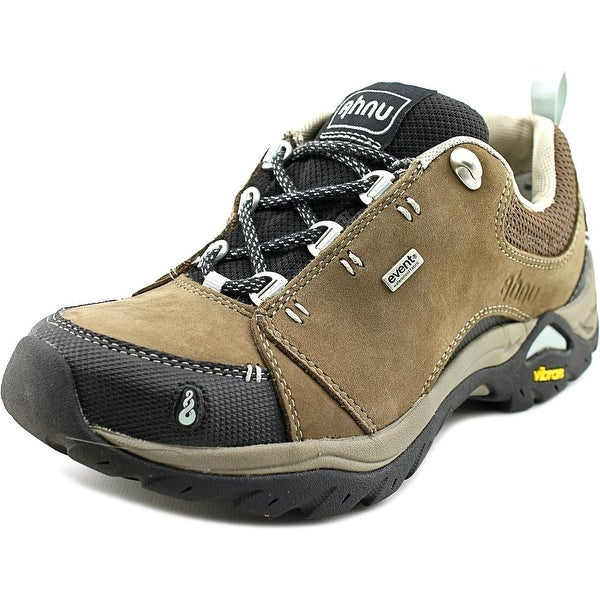 0f659205fb0cd9 Shop Ahnu Montara II Women Round Toe Leather Brown Hiking Shoe ...