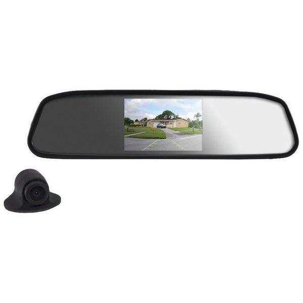 Pyle 4.3 inch mirror with wireless camera