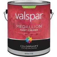 Valspar Ext Sat White Paint 027.0004100.007 Unit: GAL