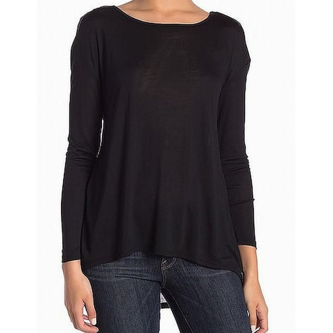 14th & Union Women's High Low Scoop Neck Knit Top $25
