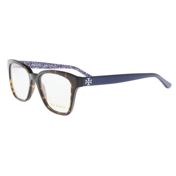 e7d6cd84ef3a Tory Burch TY2052 1348 Dark Havana / Purple Square Opticals - 51-18-135