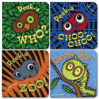 Peek-A-Boo Board Books - Set of 4