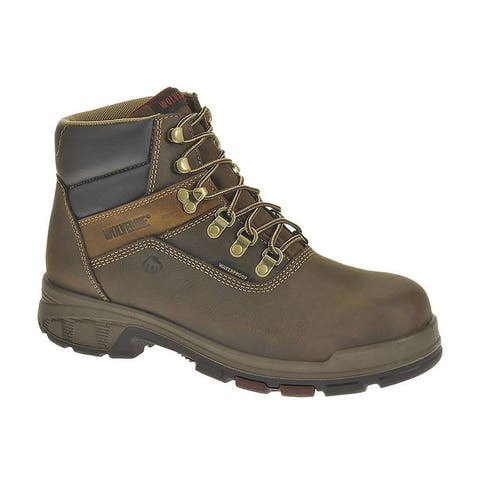 Wolverine W10314-09-5EW Men's Cabor EPX Waterproof Work Boot, D-Brown, Size 9.5