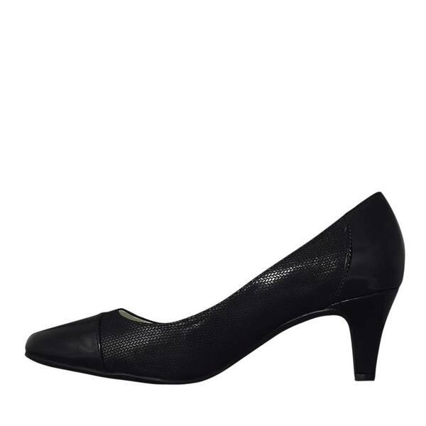 175611a063490 Shop Anne Klein Womens Rheina Leather Cap Toe Classic Pumps - Free ...