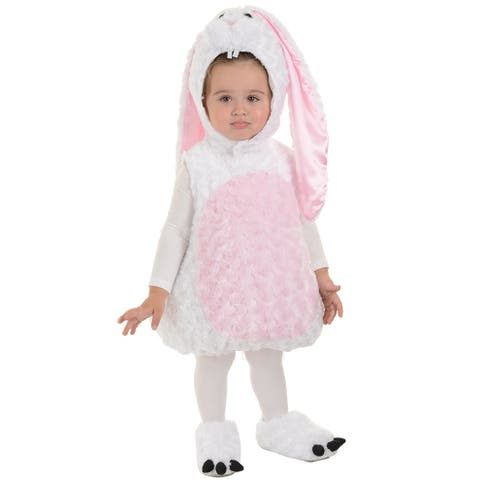 Underwraps Flopsy Bunny Toddler Costume - White