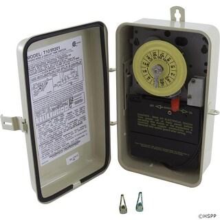 Time Clock, Intermatic T101R201, 24 hr, 115v, SPST, w/Fireman