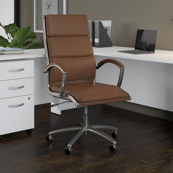 Studio C High Back Executive Office Chair by Bush Business Furniture. Opens flyout.