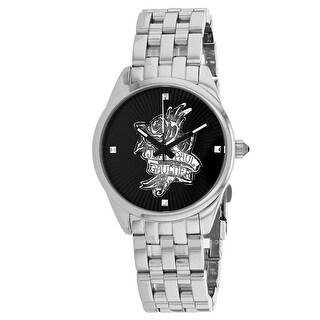 Jean Paul Gaultier Women's Navy Tattoo 8502407 Black Dial watch
