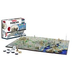 4D Cityscape Puzzle: Tokyo
