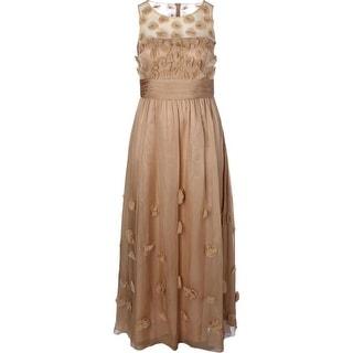 JS Collections Womens Sleeveless Prom Evening Dress