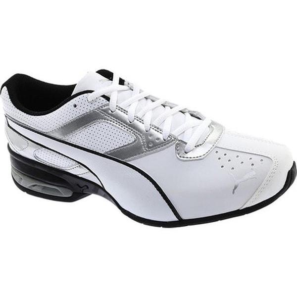 03071b97fbc Shop PUMA Men s Tazon 6 FM Sneaker Puma White Puma Silver Puma Black ...