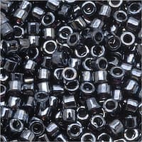 Miyuki Delica Seed Beads 10/0 - Gun Metal Gray - DBM0001 (8 Grams)