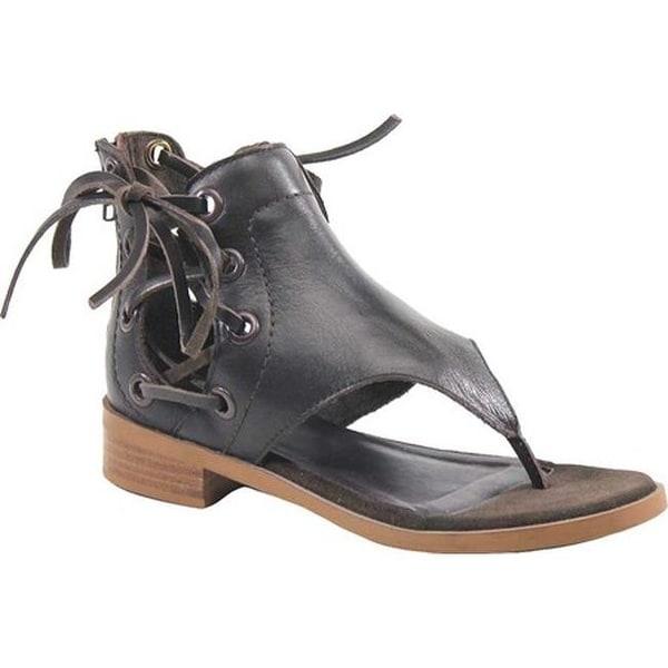 7eefa31a0 Shop Diba True Women s Double Time Thong Sandal Dark Brown Leather ...