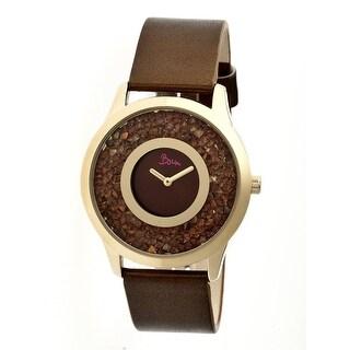 Boum Clique Women's Quartz Watch, Genuine Leather Band