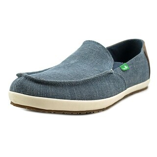 Sanuk Casa Vintage Moc Toe Canvas Loafer