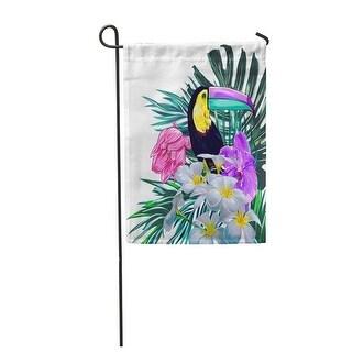 Solar Powered Toucan Bird Outdoor LED Garden Light Decor