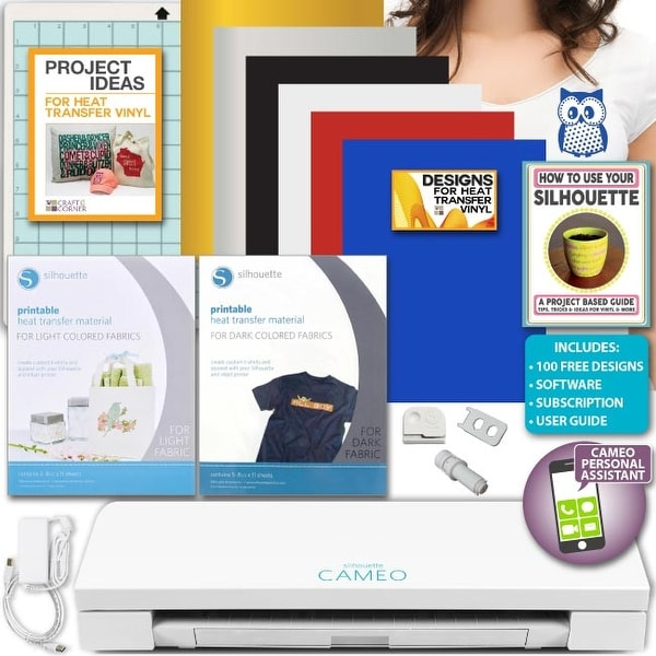 photo relating to Silhouette Printable Heat Transfer named Store Silhouette Cameo 3 Die Chopping Gadget Deal Expert