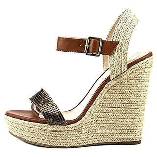 Pelle Moda Womens Oates2 Espadrille Ankle Strap Wedge Sandals