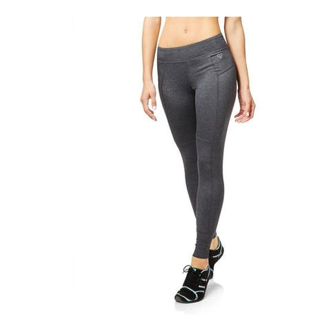 Aeropostale Womens Active Legging Athletic Track Pants, grey, X-Small