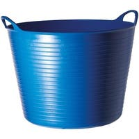 Tubtrugs SP14BL Small Flexible Gorilla Tub, Blue, 3.7 Gallon - Blue