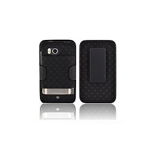 OEM Verizon Extended Shell Holster Combo for HTC Thunderbolt ADR6400 (Black) (Bu