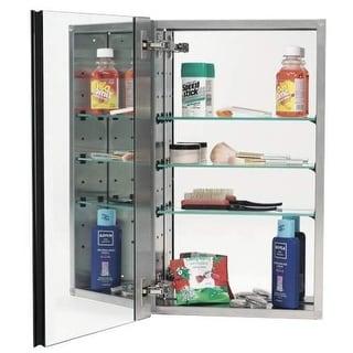"Alno MC20244 2000 Series 15"" x 25"" Single Door Recessed Medicine Cabinet with St"