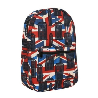 Doctor Who Union Jack Backpack
