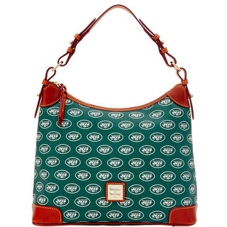 Dooney & Bourke NFL Jets Hobo (Introduced by Dooney & Bourke at $218 in Aug 2016)