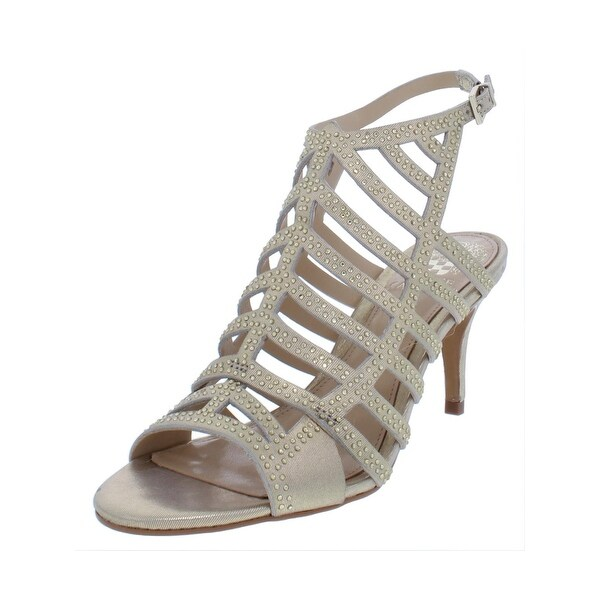 5f51f82d0a52 Shop Vince Camuto Womens Patinka Dress Sandals Leather Peep Toe - On ...