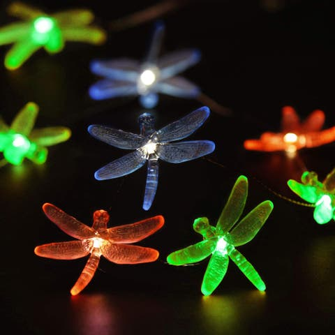 Dragonfly Plus Fairy Lights Battery-Powered - Medium