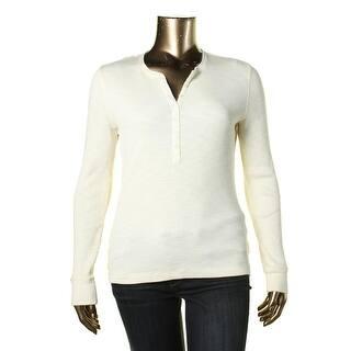 Lauren Ralph Lauren Womens Henley Top Ribbed Knit Long Sleeves|https://ak1.ostkcdn.com/images/products/is/images/direct/29775b8d18f76f168f18e2faaabf2b96009ad6e7/Lauren-Ralph-Lauren-Womens-Ribbed-Knit-Long-Sleeves-Henley-Top.jpg?impolicy=medium