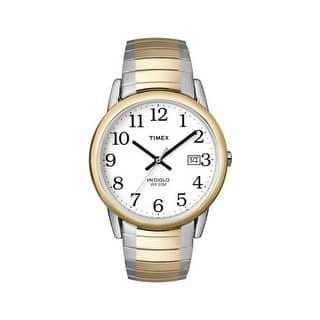 Timex T2H311E4 Men's Water Resistant Watch, Gold & Silver|https://ak1.ostkcdn.com/images/products/is/images/direct/29781a22d73e7aad016f7d0ec7aef207c3a81f03/Timex-T2H311E4-Men%27s-Water-Resistant-Watch%2C-Gold-%26-Silver.jpg?impolicy=medium