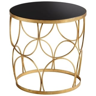 "Cyan Design 06032 22.5"" x 22.75"" Golden Marie Table"