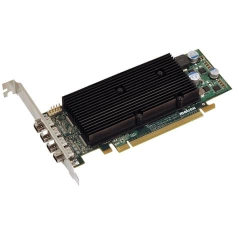 Matrox M9148-E1024LAF Matrox 9148 LP PCIe x 16 Graphic Card - 2560 x 1600 - 1 x DisplayPort - 1 x Total Number of DVI - 4 x
